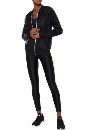 KORAL Tide striped stretch leggings