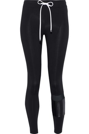 KORAL Castle paneled stretch leggings
