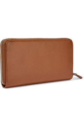ROBERTO CAVALLI Textured-leather continental wallet