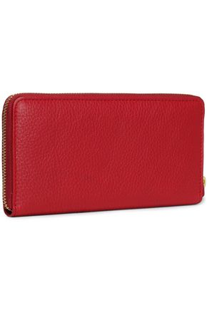 ROBERTO CAVALLI Textured-leather wallet