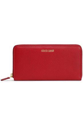 ROBERTO CAVALLI Textured-leather wallet