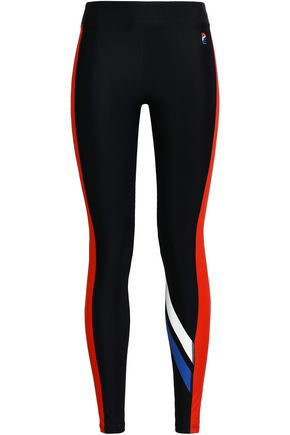 P.E NATION The Knock Out printed tech-jersey leggings
