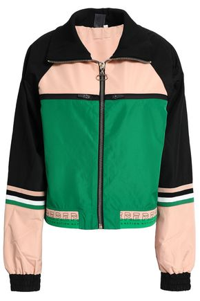 P.E NATION Major League color-block shell jacket