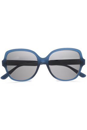 BOTTEGA VENETA Square-framed acetate sunglasses