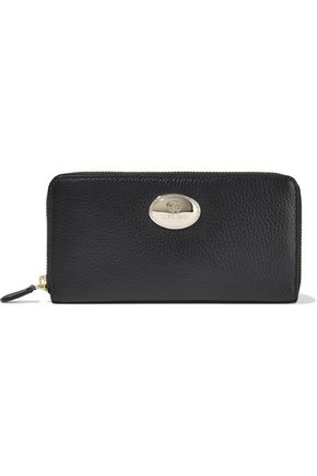 ROBERTO CAVALLI Textured-leather continental wallet