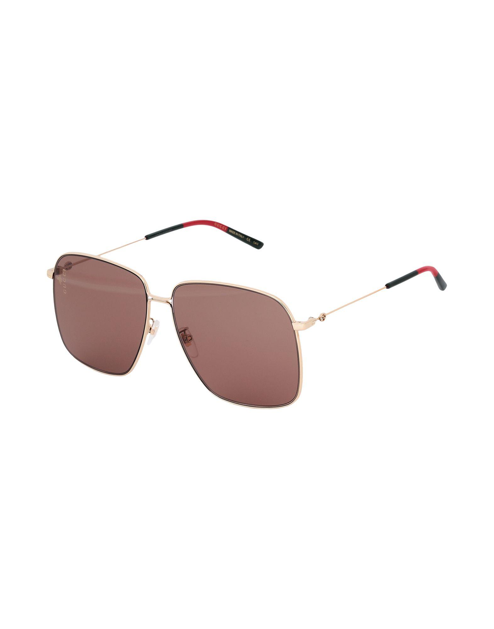 GUCCI Солнечные очки очки солнцезащитные gucci gucci gu641dwhav24