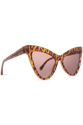 STELLA McCARTNEY Cat-eye leopard-print acetate sunglasses