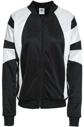 ADIDAS ORIGINALS Two-tone jersey jacket