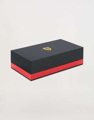 Scuderia Ferrari Online Store - Cross Townsend Scuderia Ferrari fountain pen in matt black with medium nib - Fountain Pens