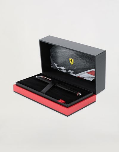 Cross Townsend Scuderia Ferrari fountain pen in matt black with medium nib