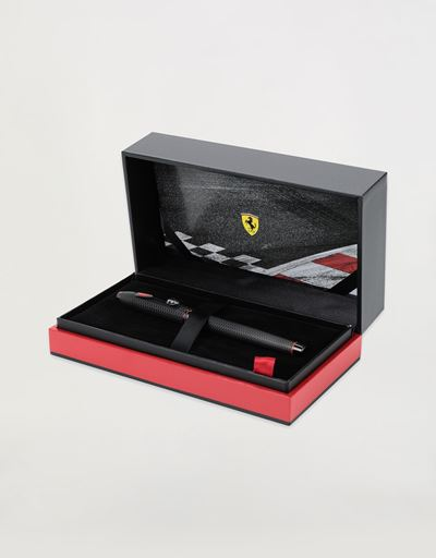 Cross Townsend Scuderia Ferrari rollerball pen with black PVD coating
