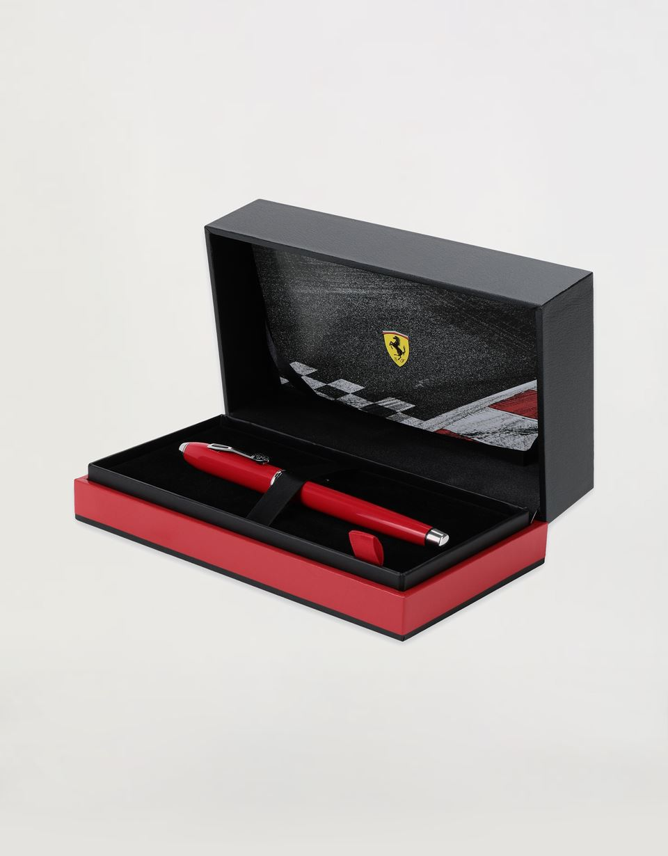 Scuderia Ferrari Online Store - Cross Townsend Scuderia Ferrari fountain pen in Racing Red with medium nib - Fountain Pens