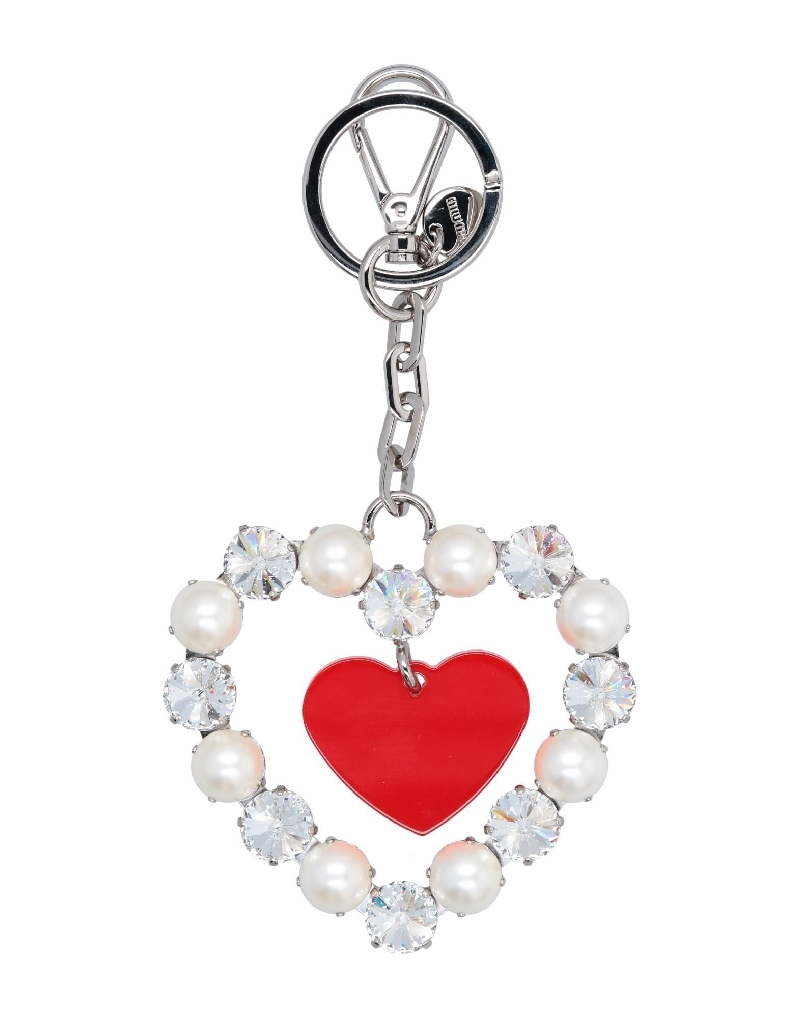 MIU MIU Брелок для ключей love moschino брелок для ключей