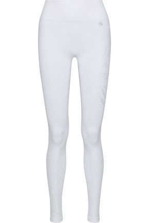 PEPPER & MAYNE Saskia laser-cut stretch leggings