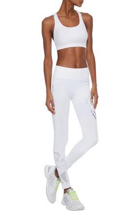 PEPPER & MAYNE Laser-cut stretch leggings