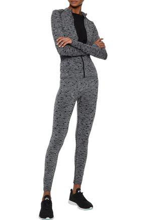 PEPPER & MAYNE Jacquard-knit leggings
