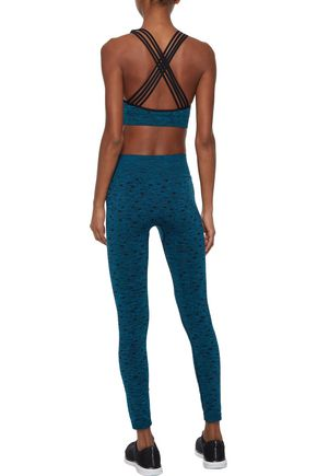 PEPPER & MAYNE Jacquard-knit leggings