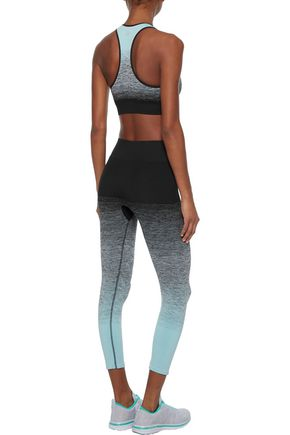 PEPPER & MAYNE Cropped dégradé stretch leggings