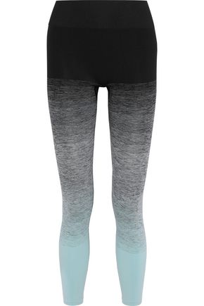 PEPPER & MAYNE Cropped dégradé stretch leggings