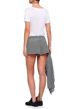 PEPPER & MAYNE Slub jersey shorts