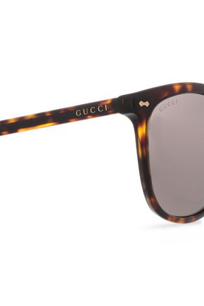 50a686ccf2 ... GUCCI D-frame tortoiseshell acetate sunglasses