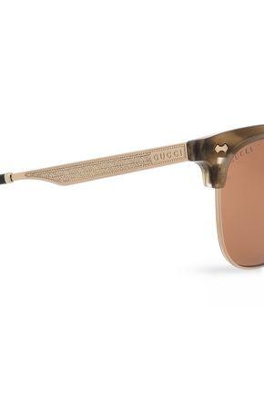 GUCCI D-frame acetate sunglasses