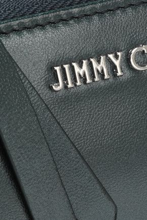 JIMMY CHOO Leather continental wallet