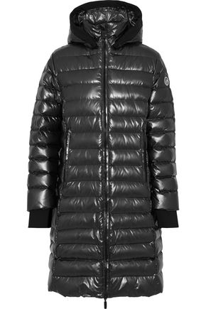FUSALP Quilted shell hooded down coat