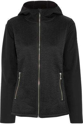 FUSALP Shell and fleece hooded jacket