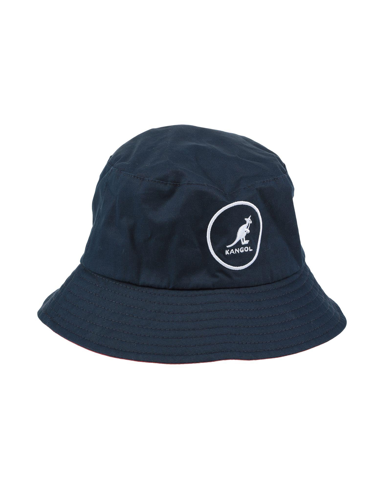 《送料無料》KANGOL メンズ 帽子 ダークブルー M コットン 100%
