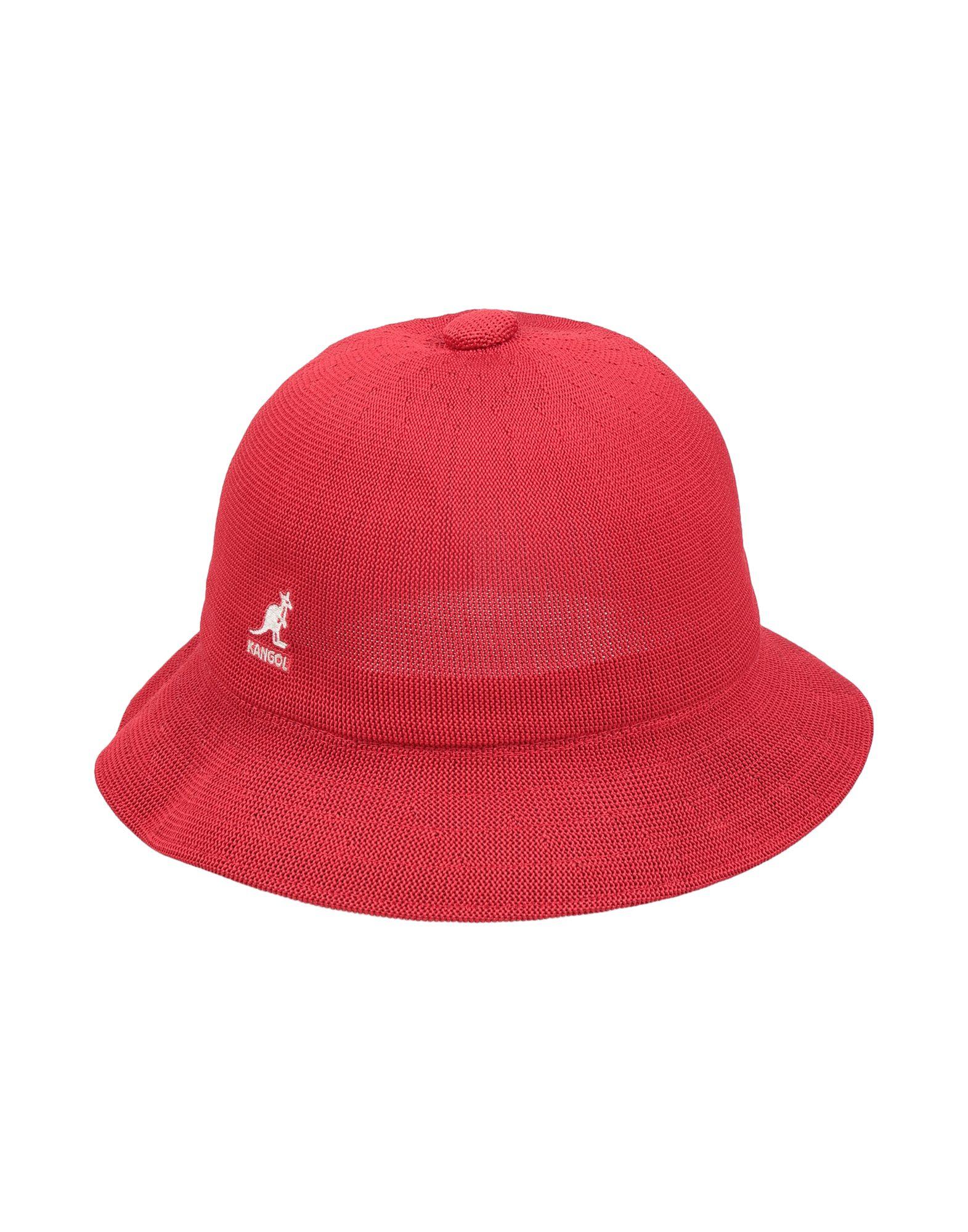 《送料無料》KANGOL メンズ 帽子 レッド L ポリエステル 60% / アクリル系 40% / ナイロン
