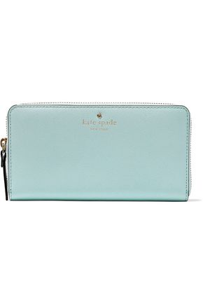KATE SPADE New York Lacey textured-leather continental wallet