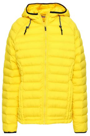 FUSALP Printed quilted shell hooded down jacket