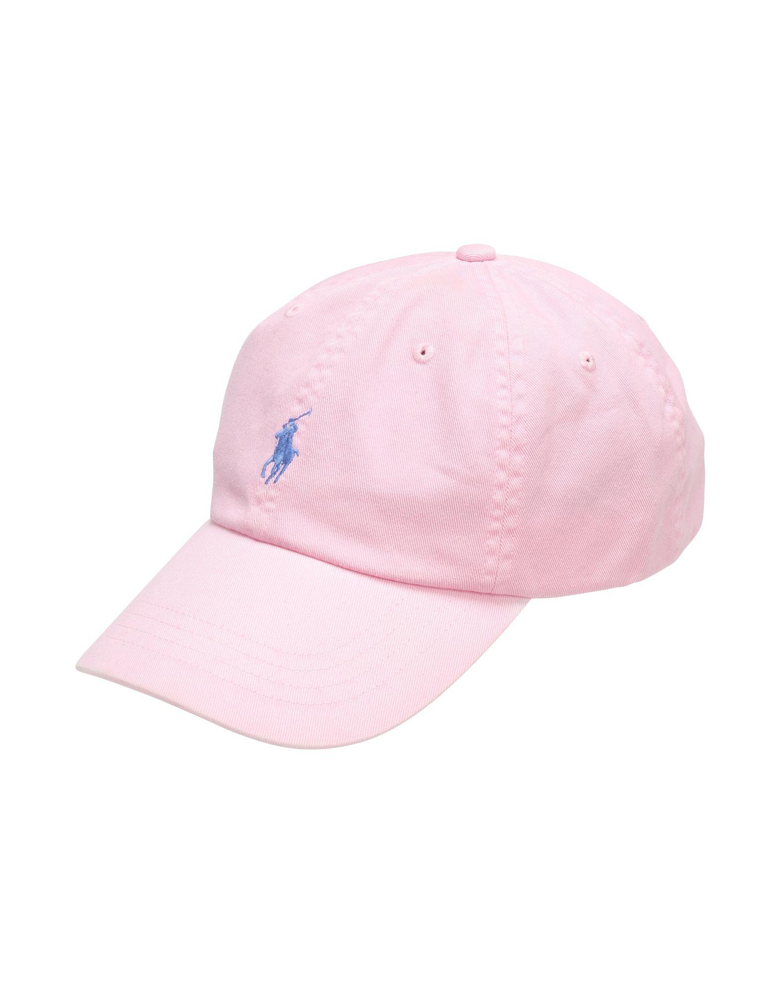 《セール開催中》POLO RALPH LAUREN メンズ 帽子 ピンク one size コットン 100% Cotton Chino Baseball Cap