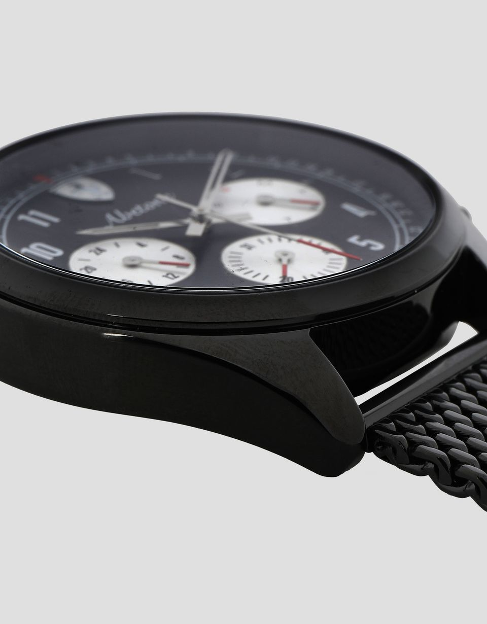 Scuderia Ferrari Online Store - Abetone multifunctional watch with black bracelet - Quartz Multifunctional Watch