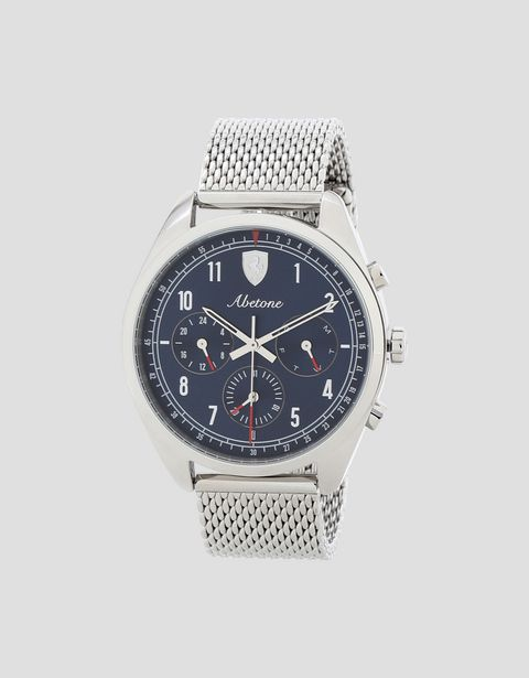 Abetone multifunction watch with blue dial