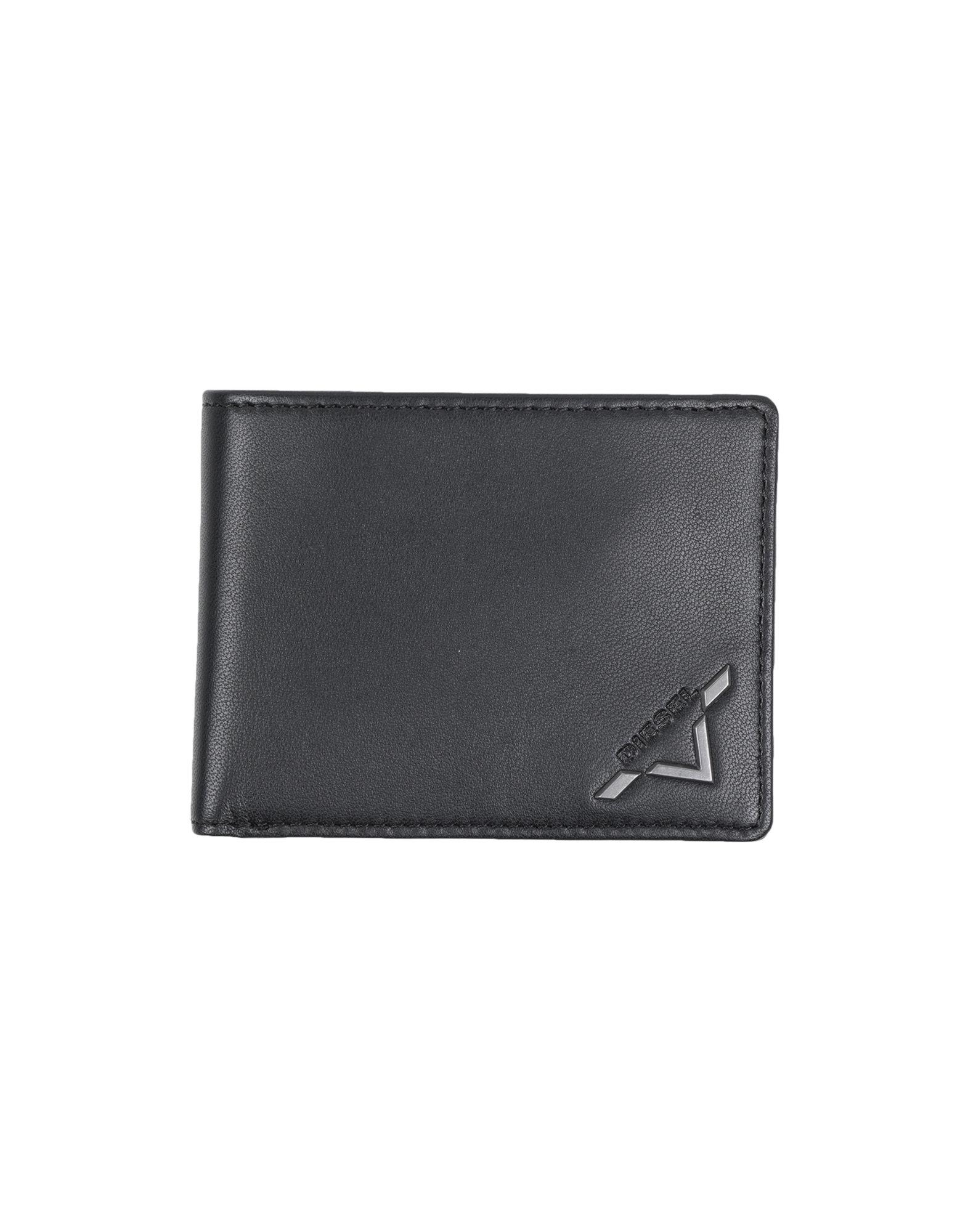 《送料無料》DIESEL メンズ 財布 ブラック 革