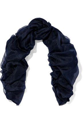 DOLCE & GABBANA Cashmere and silk-blend gauze scarf