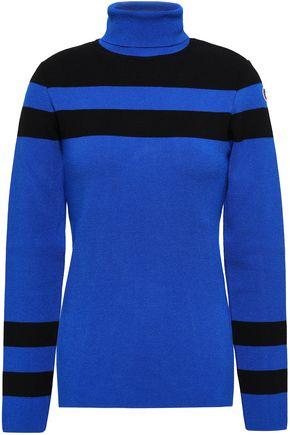 FUSALP Intarsia-knit turtleneck top