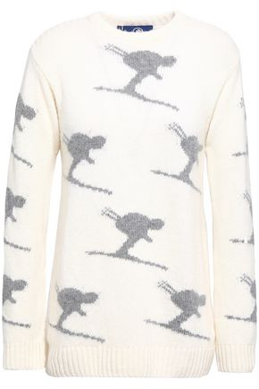 FUSALP Intarsia wool and cashmere-blend sweater