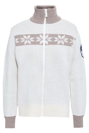 FUSALP Intarsia wool-blend sweater