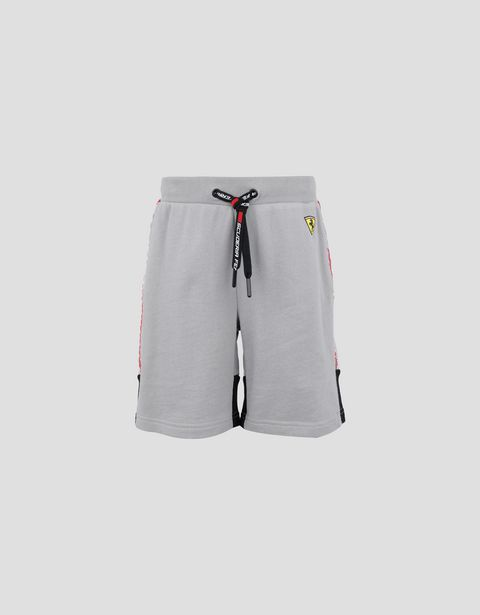 Infant's shorts in French Terry with Icon Tape