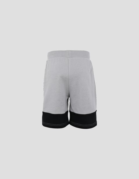 Children's French terry shorts with Icon Tape