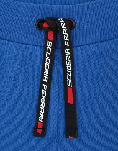 Scuderia Ferrari Online Store - Children's shorts in French Terry with the words RED SOUL -