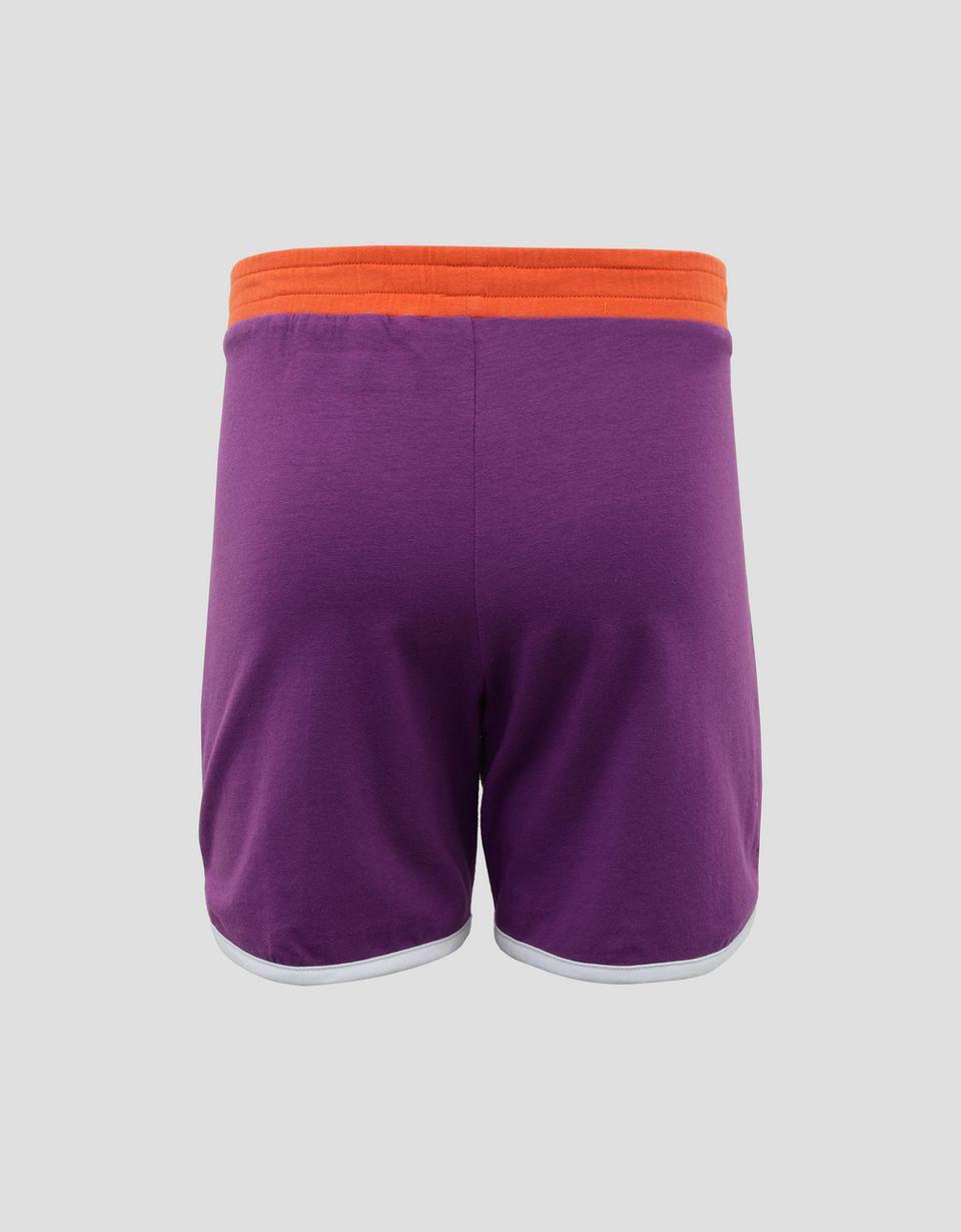 Scuderia Ferrari Online Store - Short fille en jersey avec liserés contrastants - Shorts