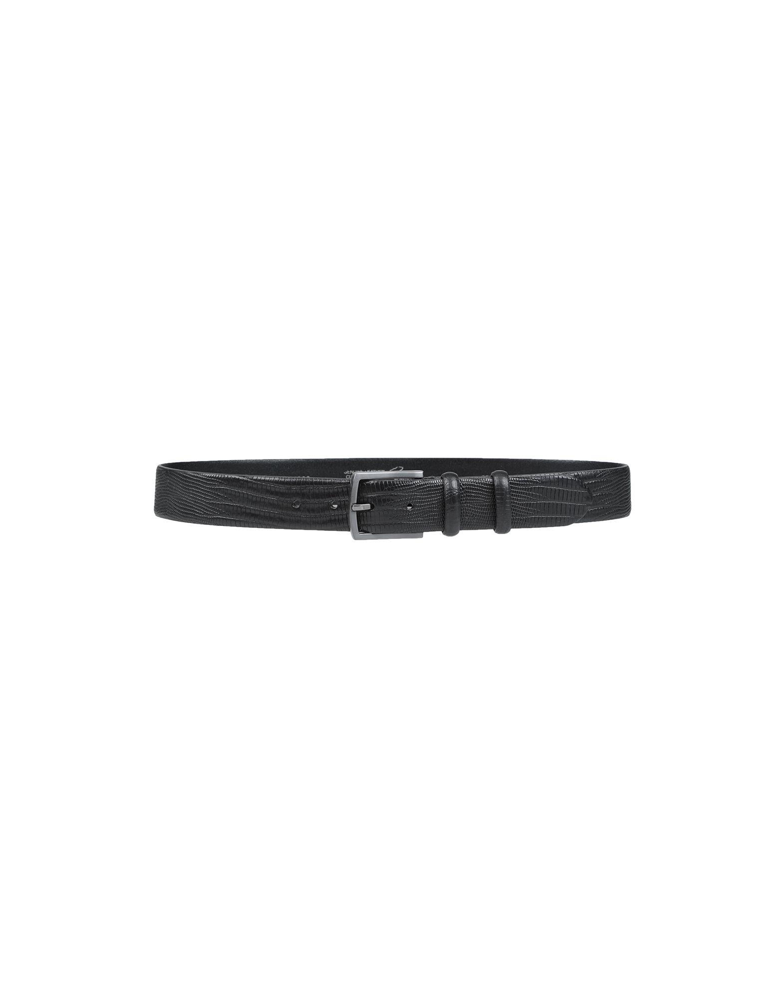 《セール開催中》CANTARELLI メンズ ベルト ブラック 100 革