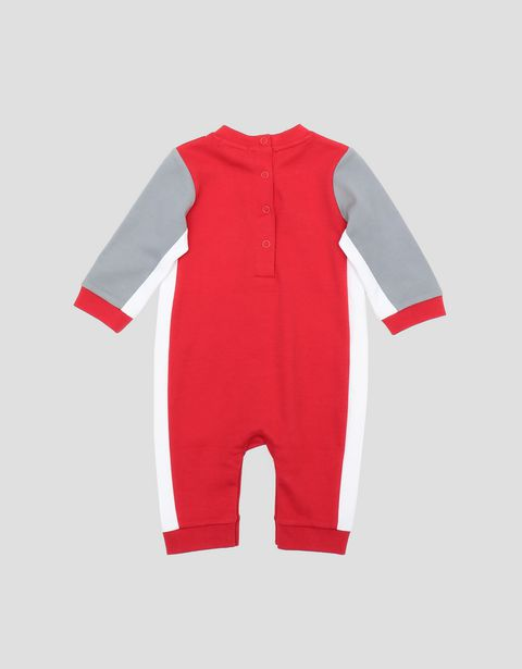 Infant's racing suit for boys in Interlock cotton