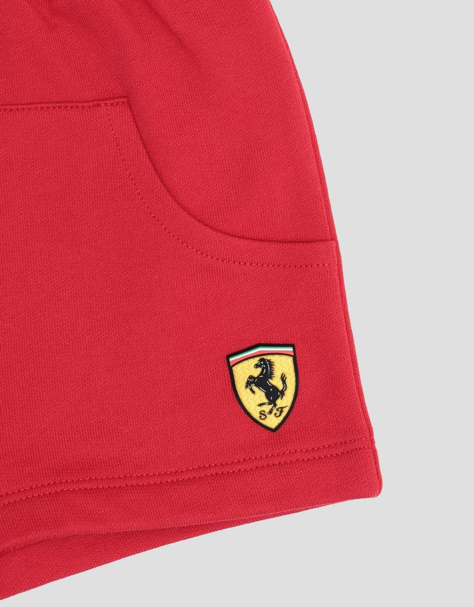 Scuderia Ferrari Online Store - Shorts neonato in French Terry - Shorts