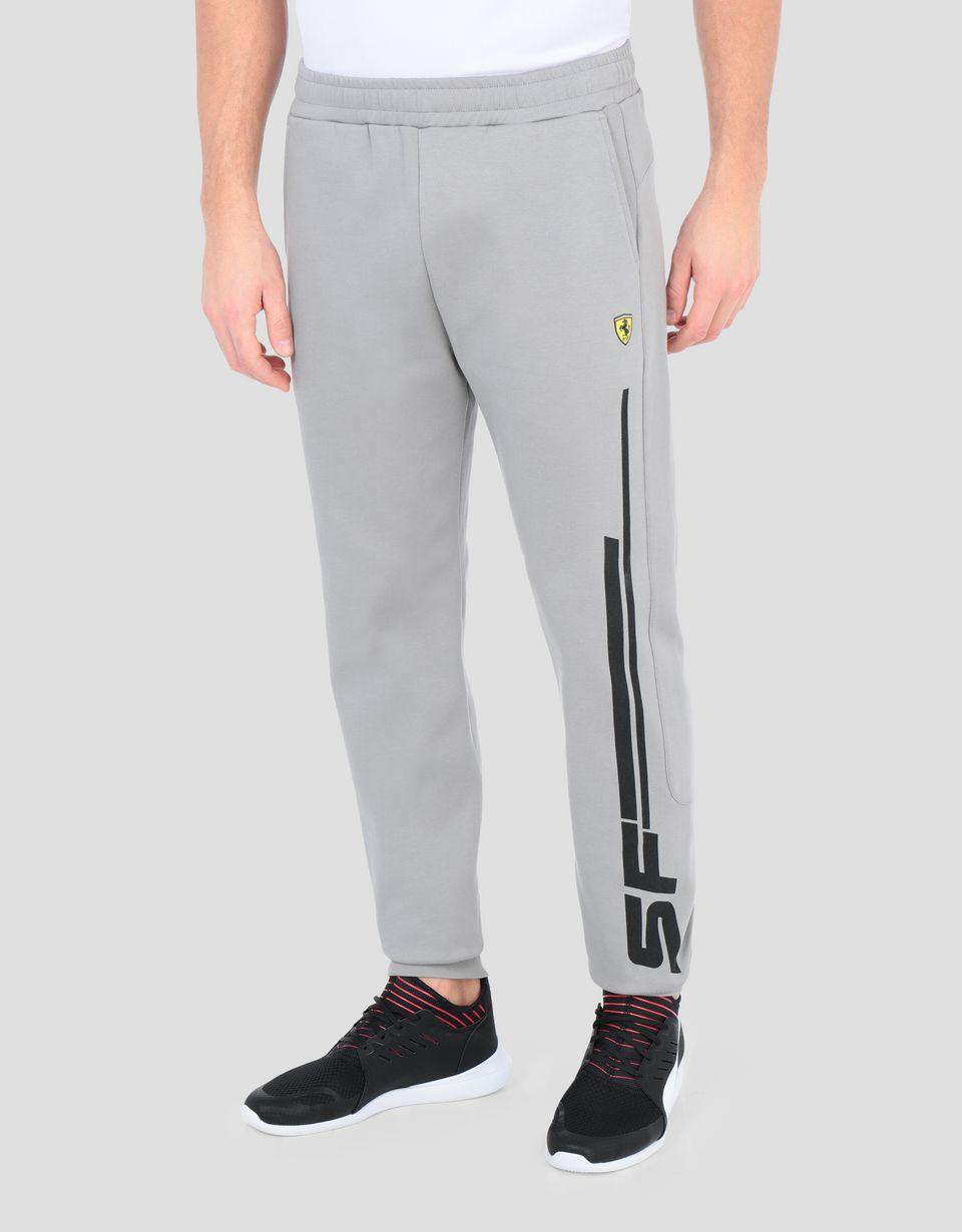 Scuderia Ferrari Online Store - Men's joggers with Scuderia Ferrari print - Joggers