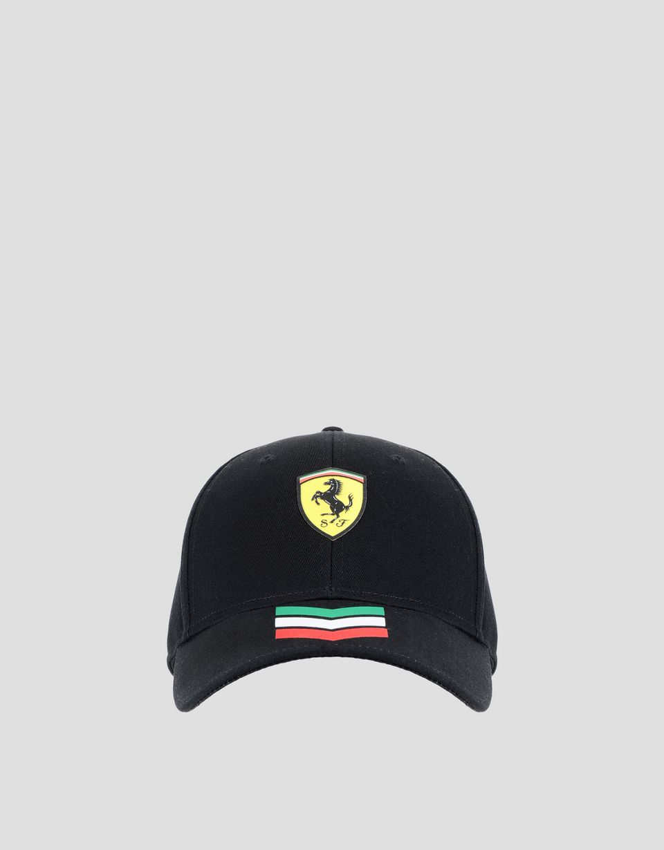 Scuderia Ferrari Online Store - Cap with three-colour arrows and Ferrari Shield - Baseball Caps